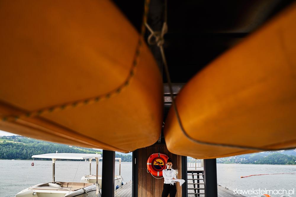 Heron Live Hotel łódka