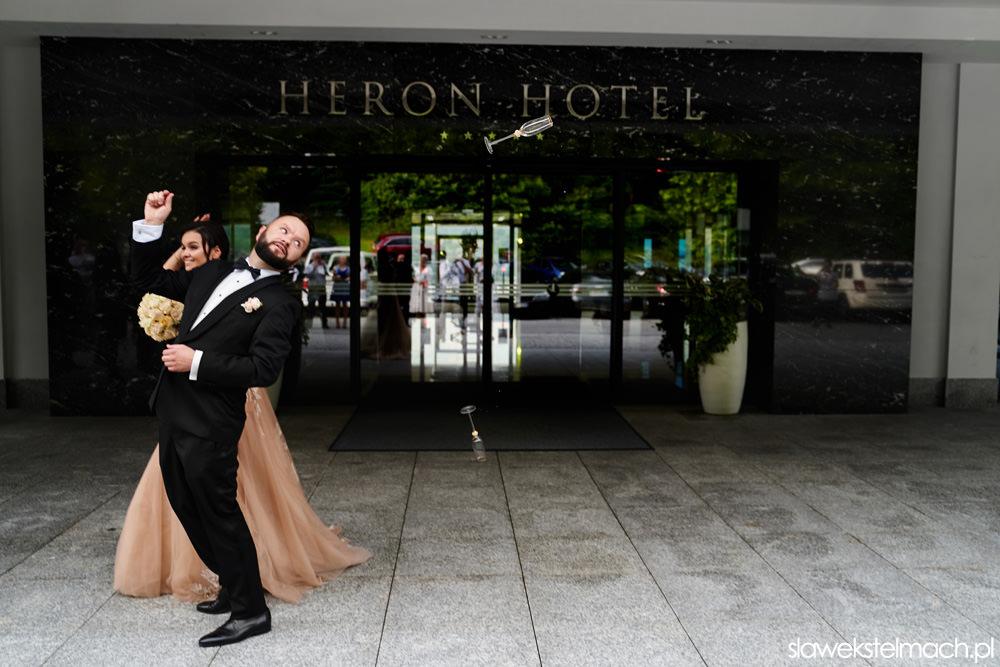 piękne wesele w heron live hotel