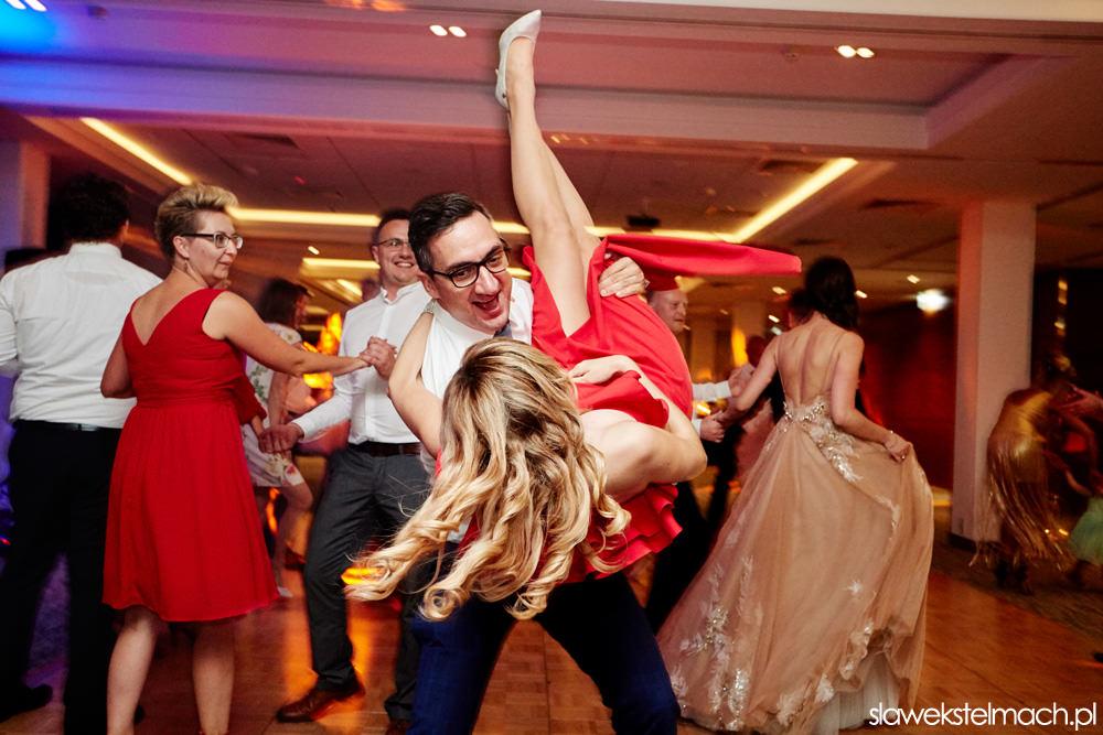 uroczyste wesele w hotelu Heron Live Hotel wesele nad jeziorem Rożnowskim
